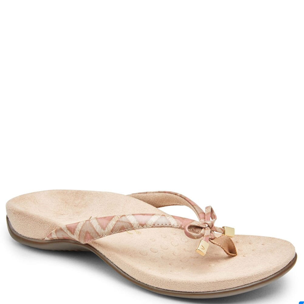 Image for Vionic Women's Bella II Thong Sandals - Dusty Pink from bootbay