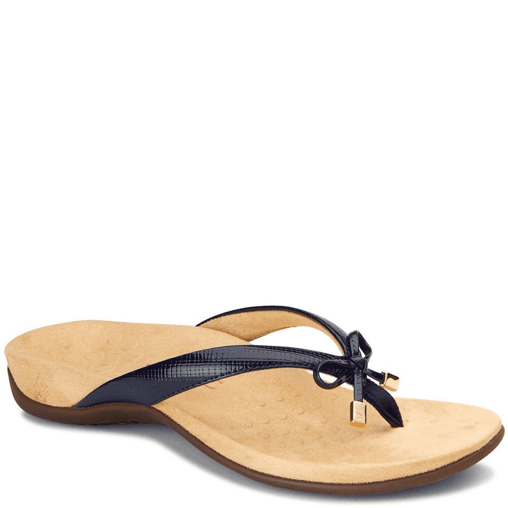 Image for Vionic Women's Bella II Thong Sandals - Navy from elliottsboots