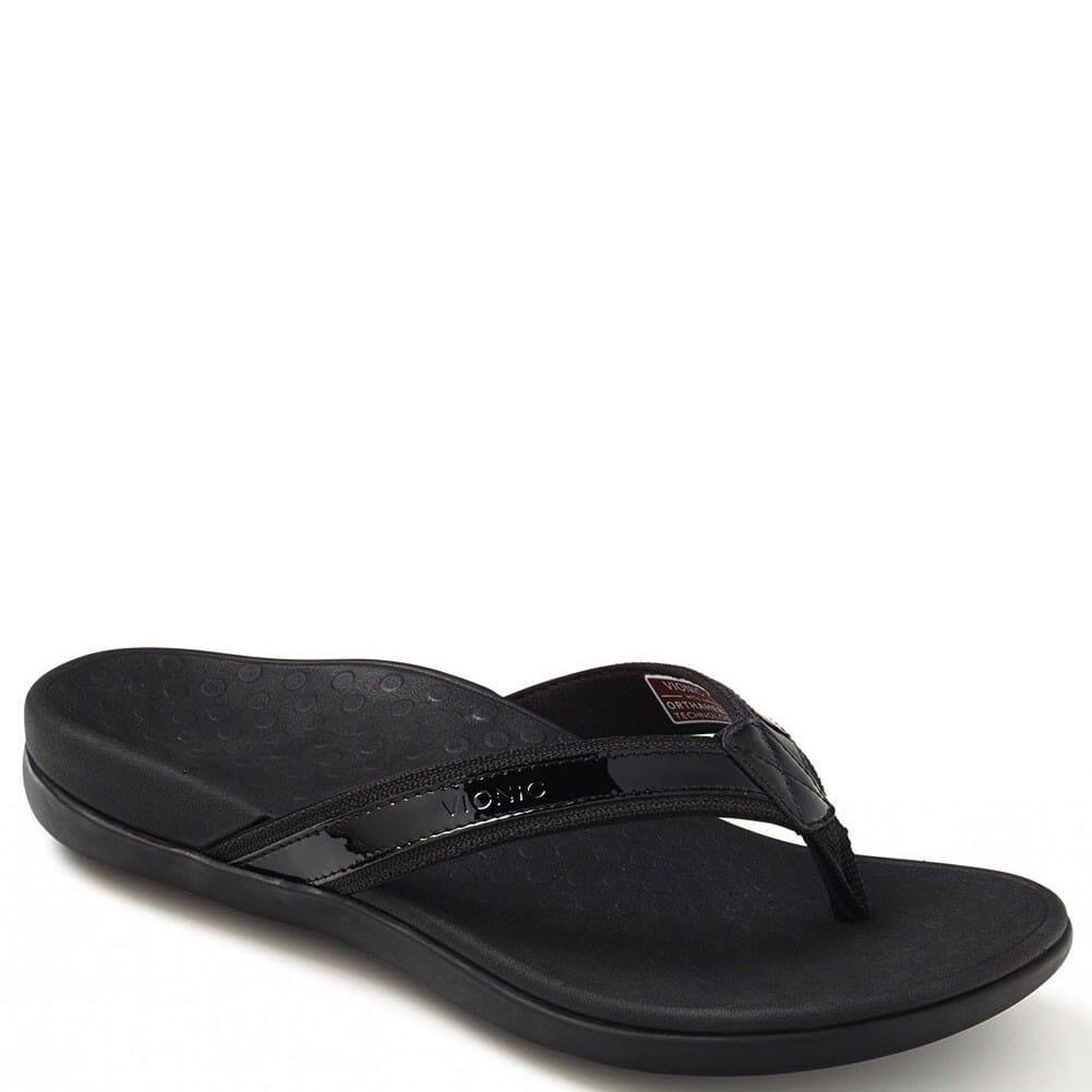 Image for Vionic Women's Tide II Flip Flops - Black from bootbay