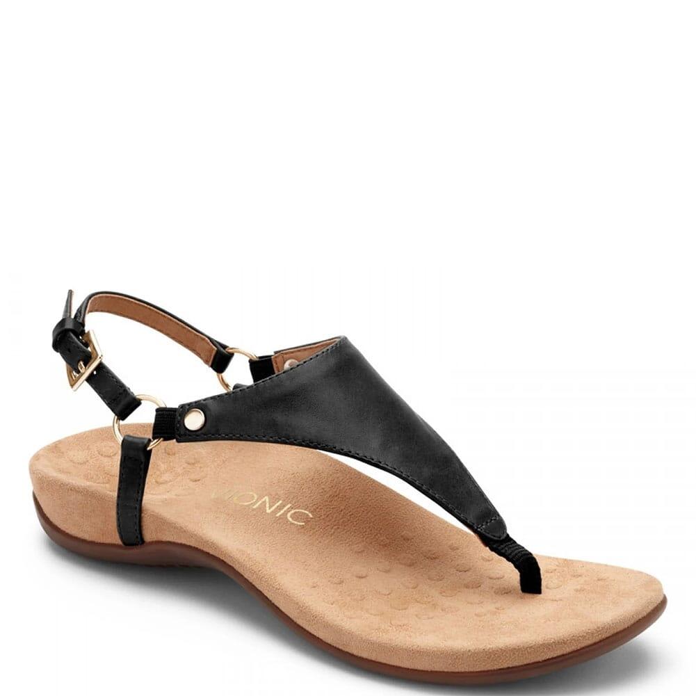 Image for Vionic Women's Kirra Backstrap Sandals - Black from elliottsboots