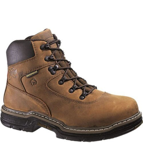 Image for Wolverine Men's Marauder 6IN Work Boots - Brown from bootbay