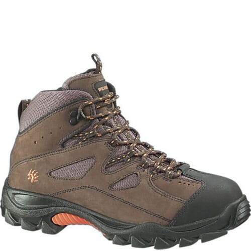 Image for Wolverine Men's Hudson Safety Boots - Dark Brown from bootbay