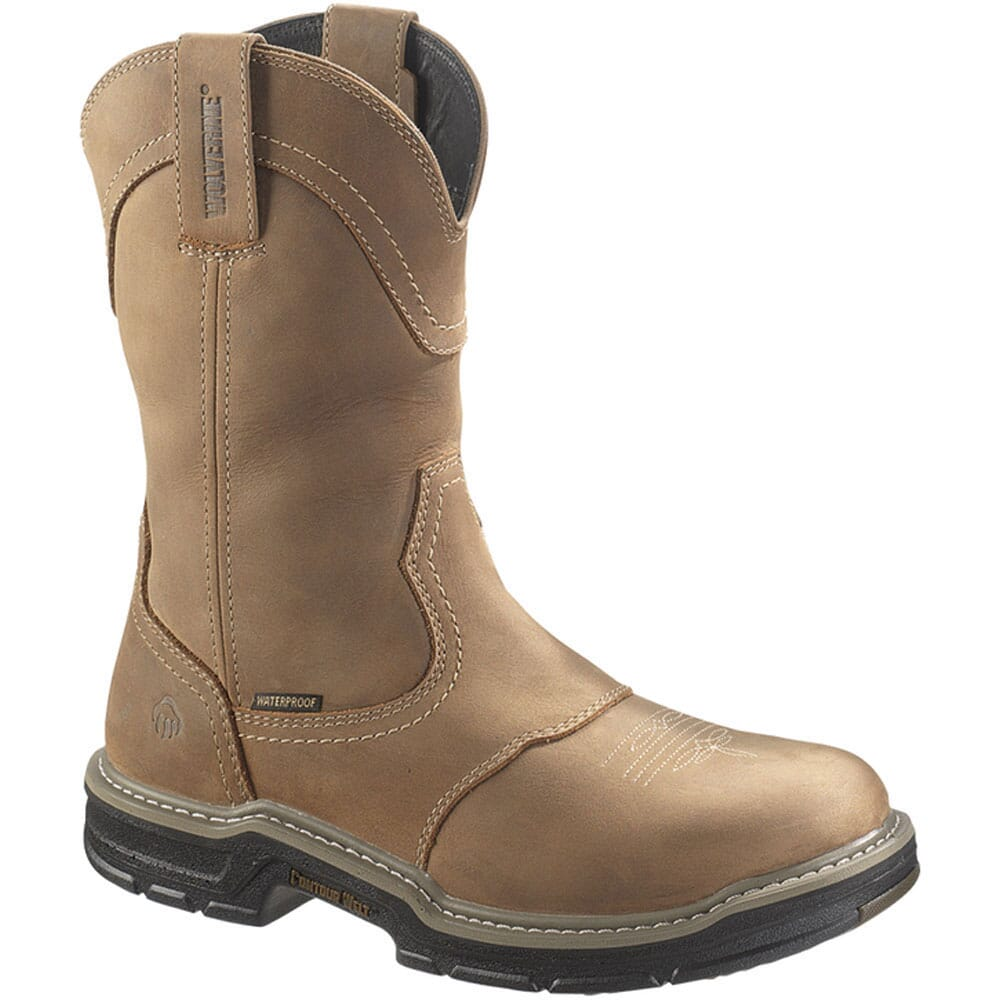 Image for Wolverine Men's Anthem Safety Boots - Brown from bootbay