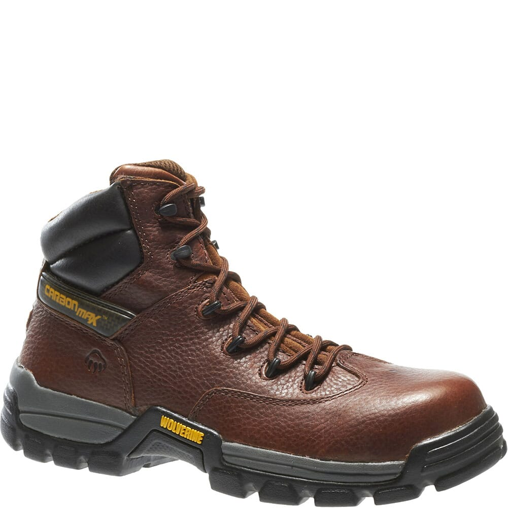Image for Wolverine Men's Guardian CarbonMAX Safety Boots - Brown from bootbay