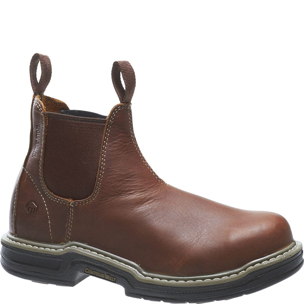 Image for Wolverine Men's Raider EH Safety Boots - Brown from bootbay
