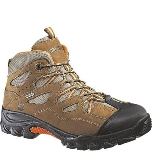 Image for Wolverine Men's Durant Safety Boots - Lt.Brown/Orange from bootbay