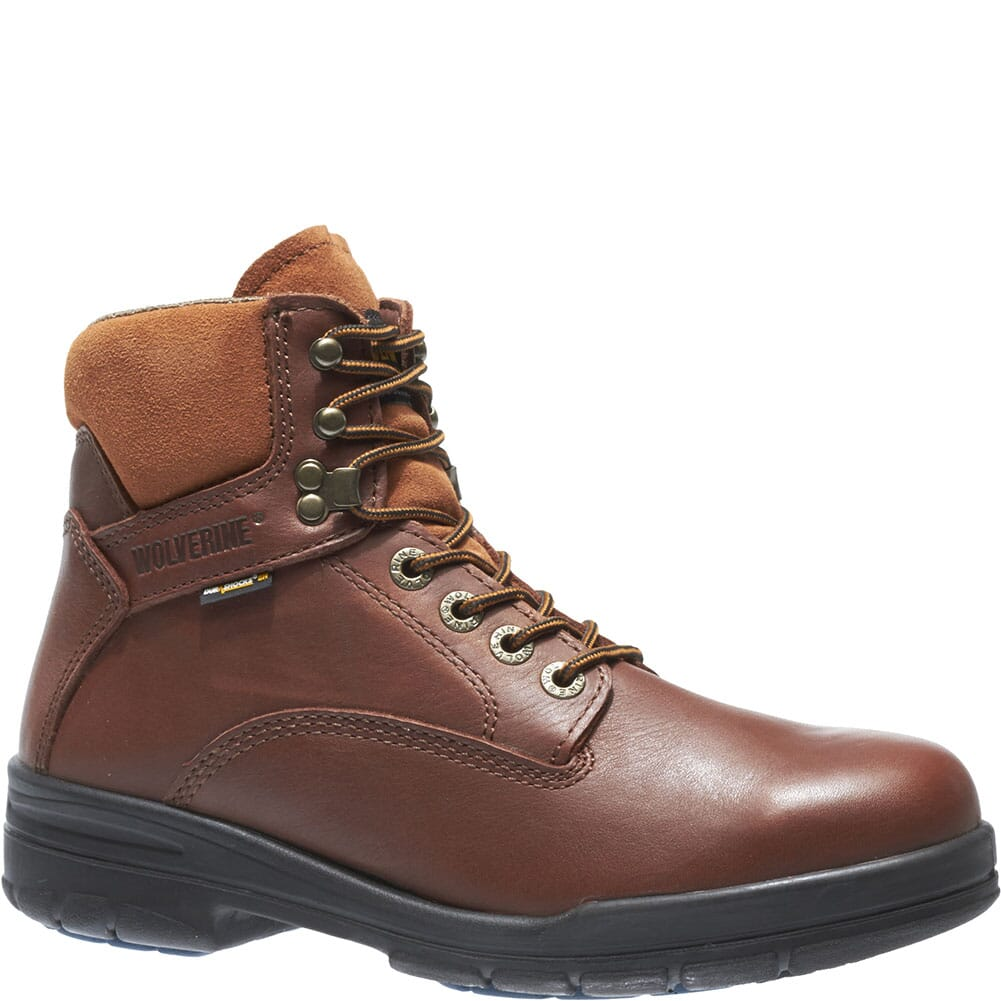 Image for Wolverine Men's DuraShocks Safety Boots - Brown from bootbay