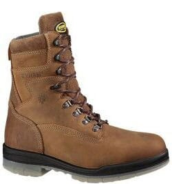 Image for Wolverine Men's 8IN WP Safety Boots - Stone from bootbay