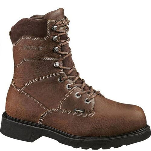 Image for Wolverine Men's 8IN Goodyear Welt Work Boots - Brown from bootbay