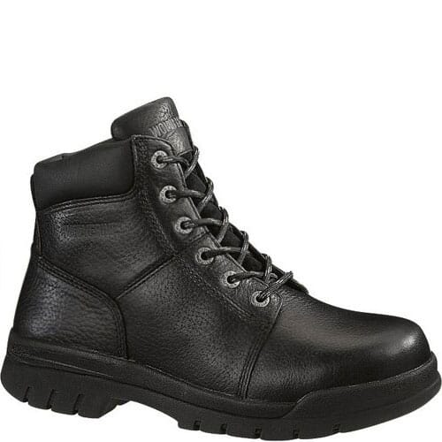 Image for Wolverine Men's Slip Resistant Safety Boots - Black from bootbay