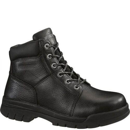Image for Wolverine Men's Slip Resistant Work Boots - Black from bootbay