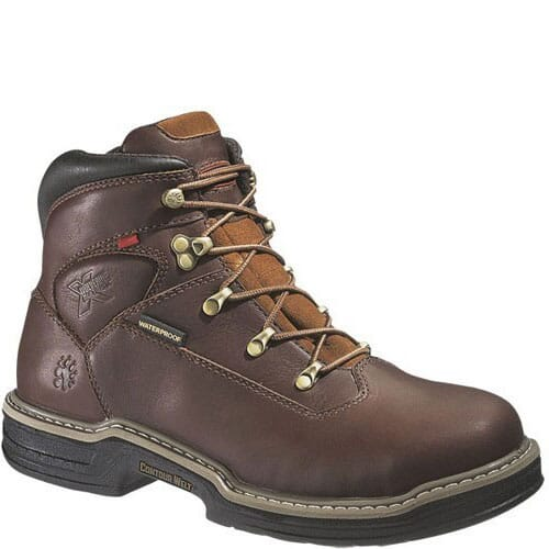 Image for Wolverine Buccaneer Men's Safety Boots - Dark Brown from bootbay