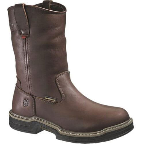 Image for Wolverine Men's Buccaneer WP Safety Boot - Dark Brown from bootbay