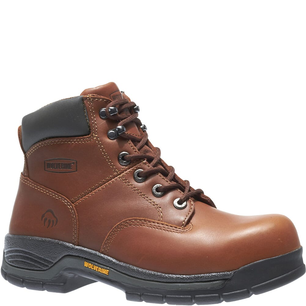 Image for Wolverine Men's Harrison Safety Boots - Brown from bootbay
