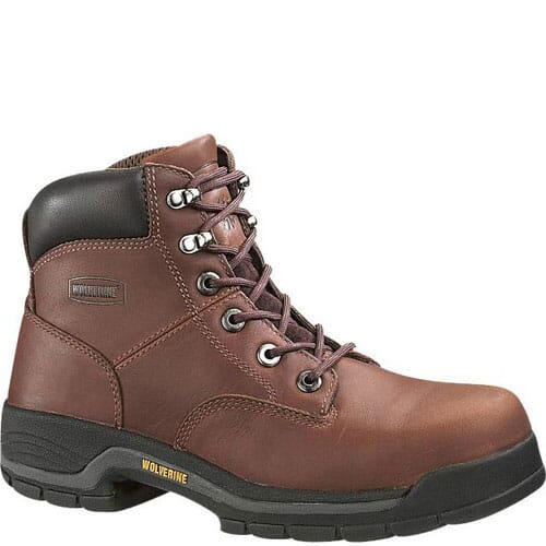 Image for Wolverine Men's Harrison Work Boots - Brown from bootbay