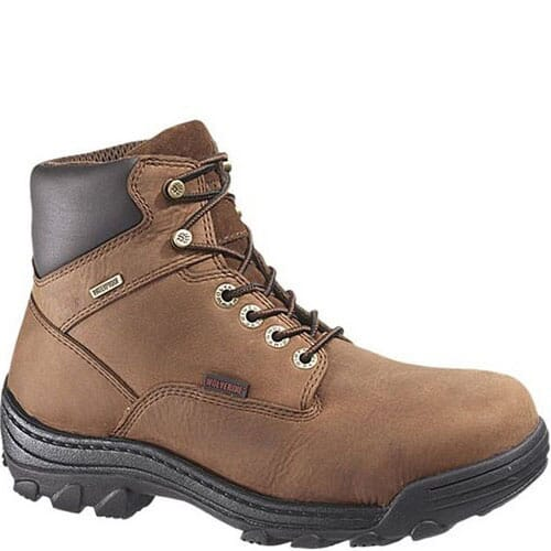 Image for Wolverine Men's Durbin Safety Boots - Brown from bootbay