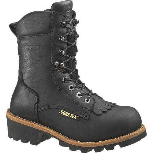 Image for Wolverine 8IN WP Men's Safety Loggers - Black from bootbay
