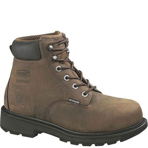 Image for Wolverine Men's Mckay Met Safety Boots - Brown from bootbay