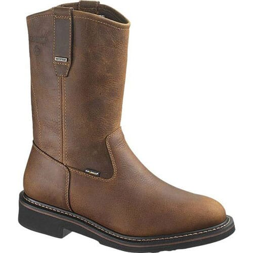 Image for Wolverine Men's WP EH Brek Safety Boots - Brown from bootbay