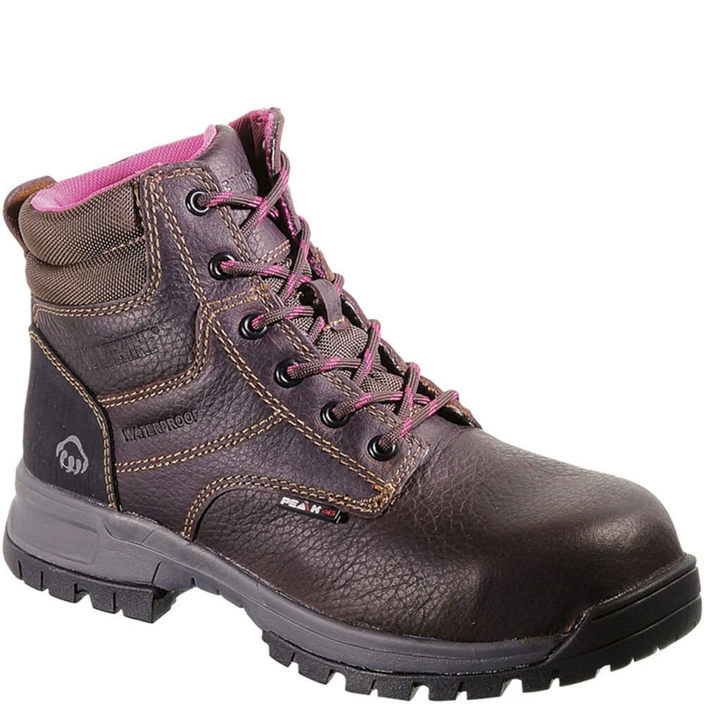 Image for Wolverine Women's Piper WP 6IN  Safety Boots - Brown from bootbay