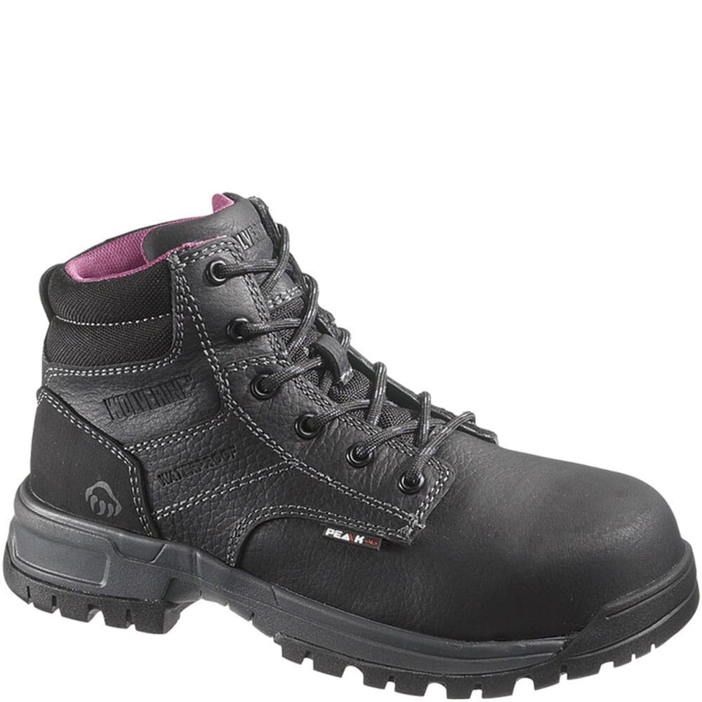 Image for Wolverine Women's Piper WP CT Safety Boots - Black from elliottsboots