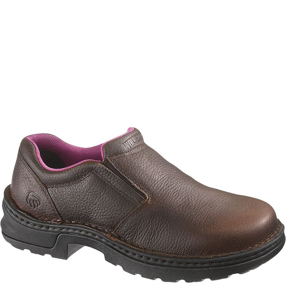 Image for Wolverine Women's Bailey Safety Shoes - Brown from bootbay