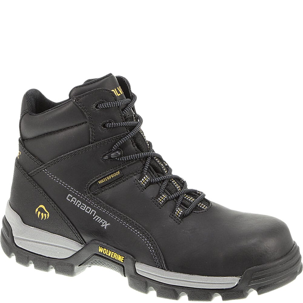 Image for Wolverine Men's Tarmac Safety Boots - Black from bootbay