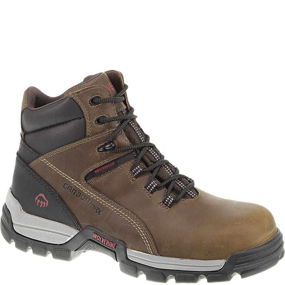 Image for Wolverine Men's Tarmac Safety Boots - Brown from bootbay