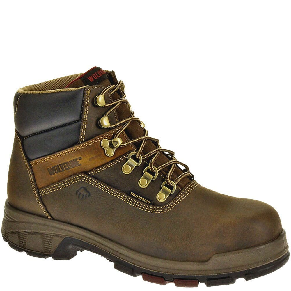 Image for Wolverine Men's Cabor EPX WP Safety Boots - Brown from bootbay