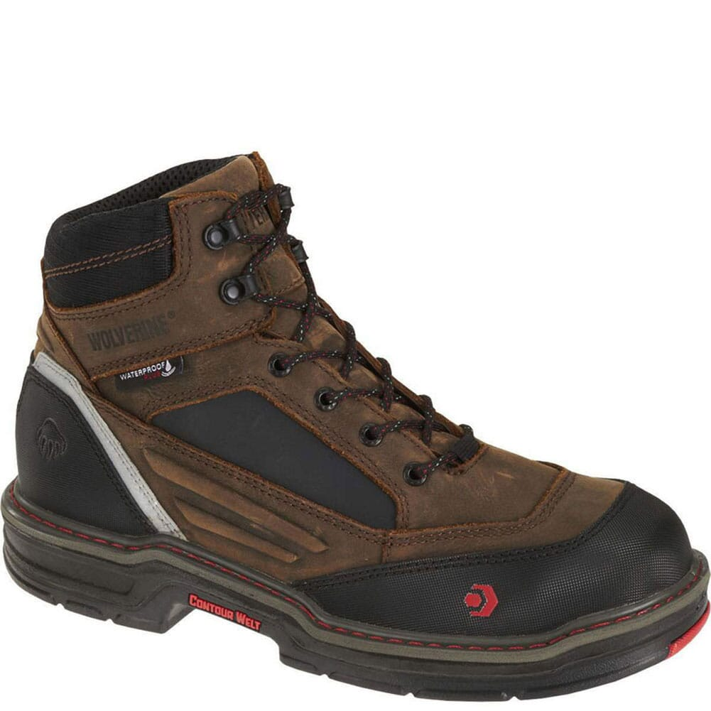 Image for Wolverine Men's Overman NT WPF Safety Boots - Brown from bootbay