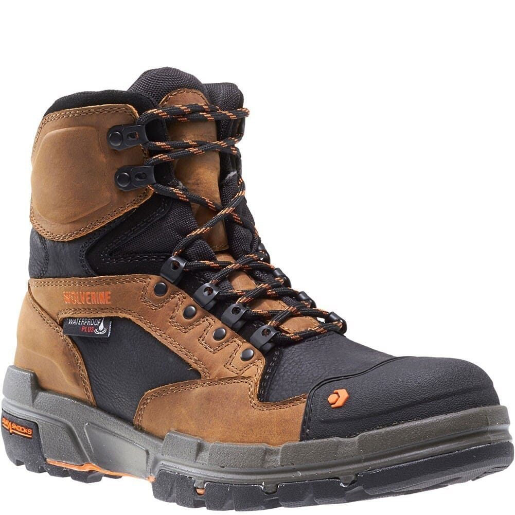 Image for Wolverine Men's Legend WP Safety Boots - Tan from bootbay