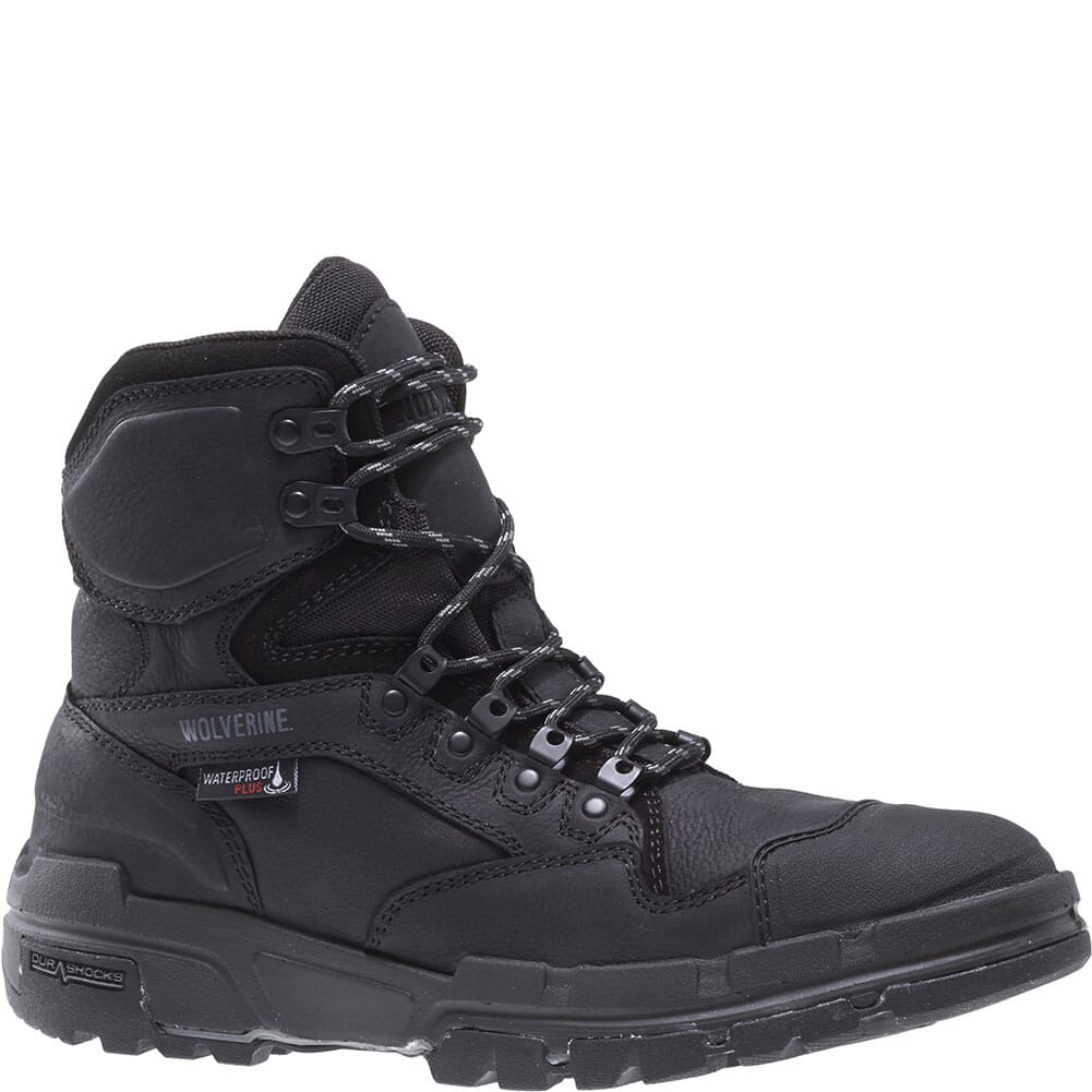 Image for Wolverine Men's Legend WP Safety Boots - Black from bootbay