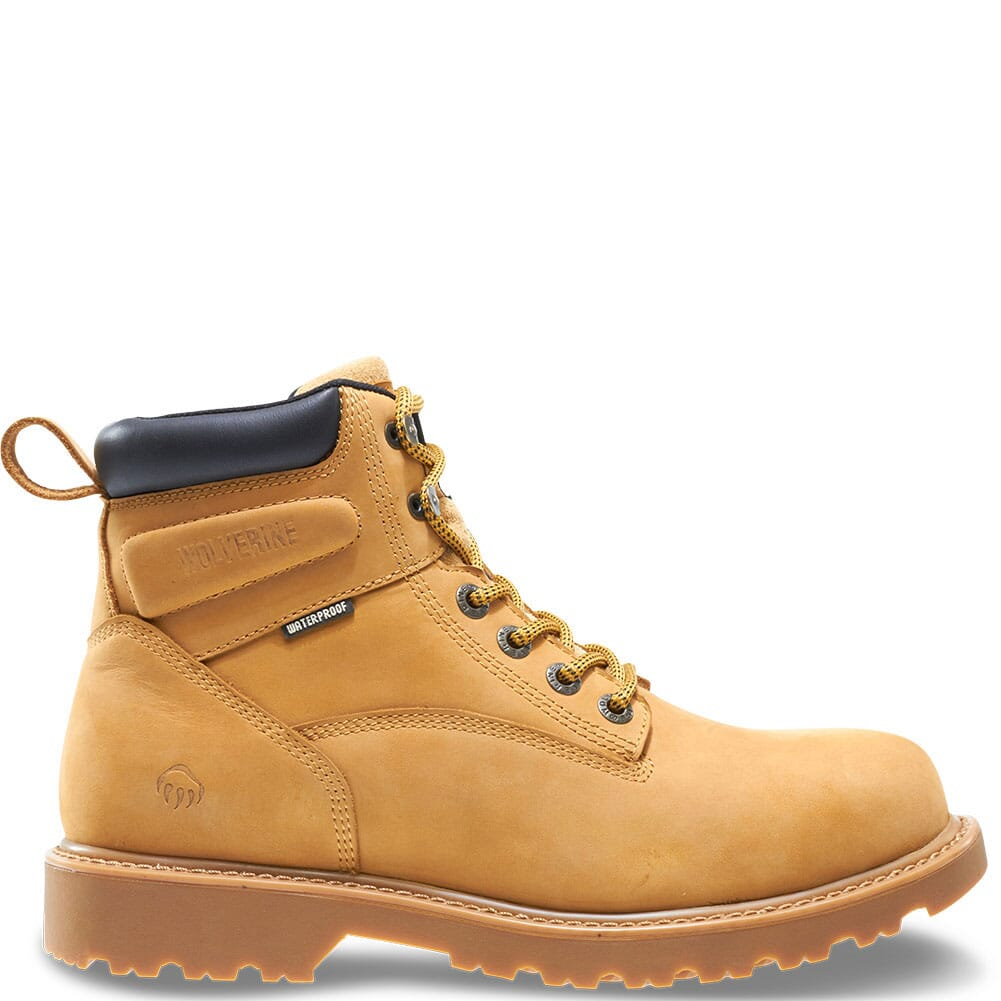 Image for Wolverine Men's Floorhand WP Work Boots - Wheat from bootbay