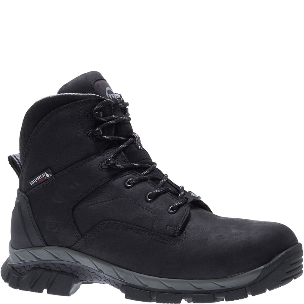 Image for Wolverine Men's Glacier Ice WP Carbonmax Safety Boots - Black from bootbay