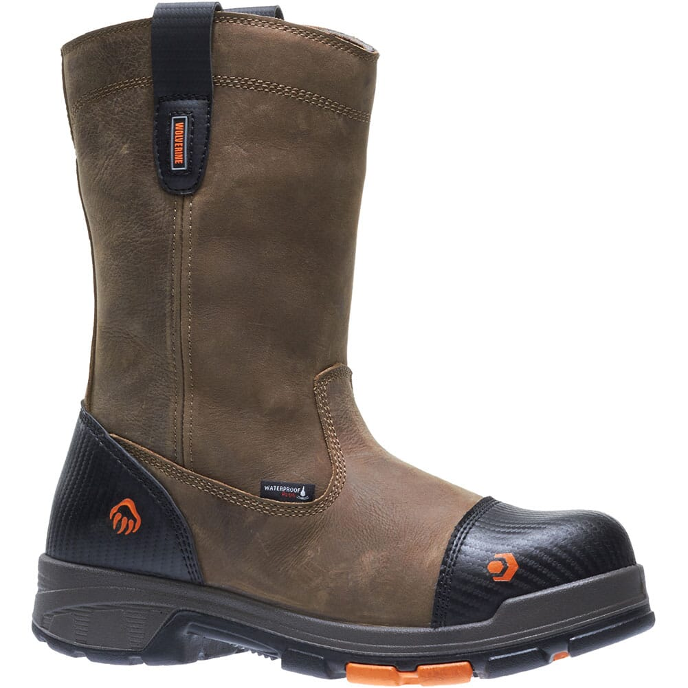 Image for Wolverine Men's Blade LX Safety Boots - Brown from bootbay