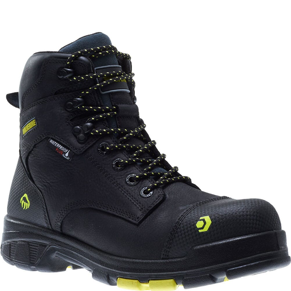 Image for Wolverine Men's Blade LX Safety Boots - Black from bootbay