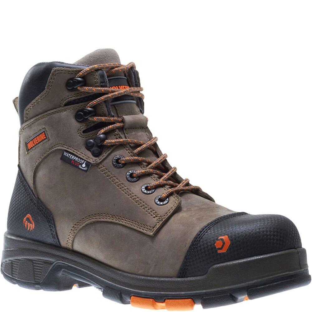 Image for Wolverine Men's Carbonmax Blade LX WP Safety Boots - Chocolate Chip from bootbay