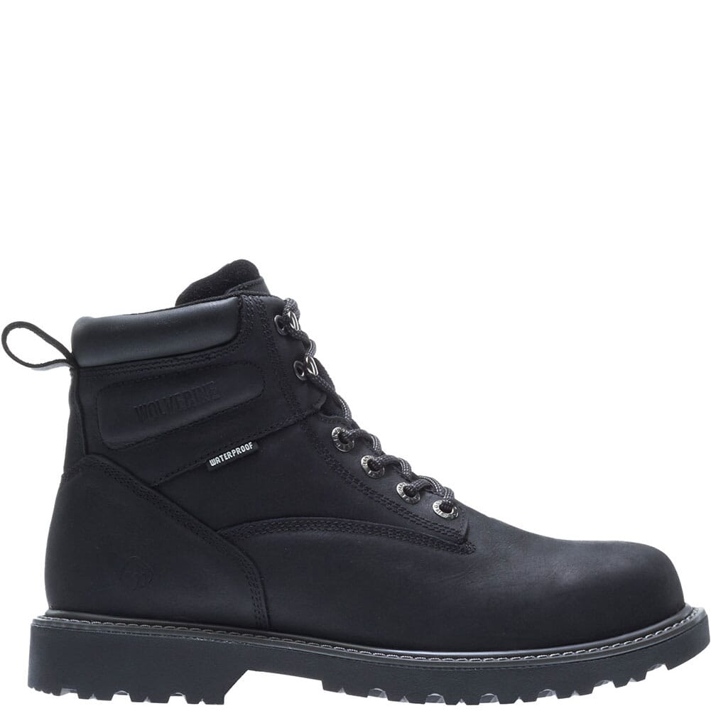 Image for Wolverine Men's Floorhand WP Work Boots - Black from bootbay