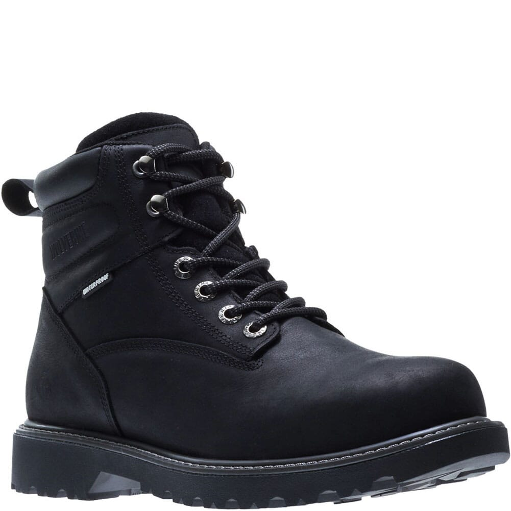 Image for Wolverine Men's Floorhand Safety Boots - Black from bootbay