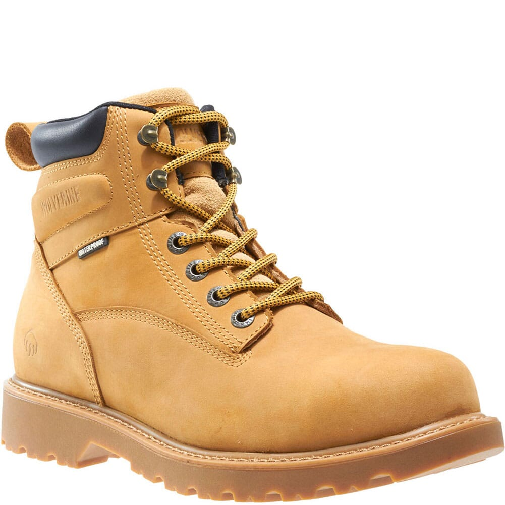 Image for Wolverine Women's Floorhand Work Boots - Wheat from elliottsboots