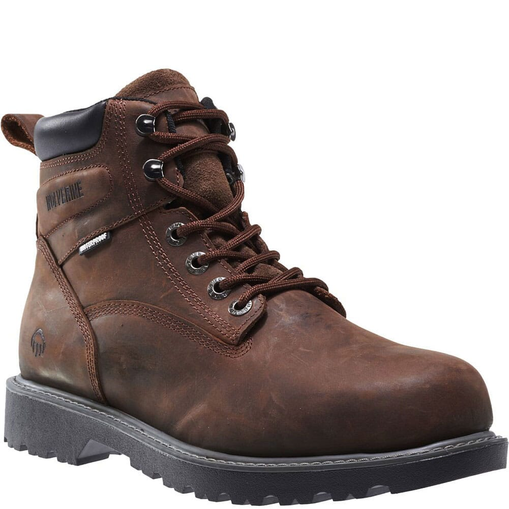 Image for Wolverine Women's Floorhand Safety Boots - Brown from elliottsboots