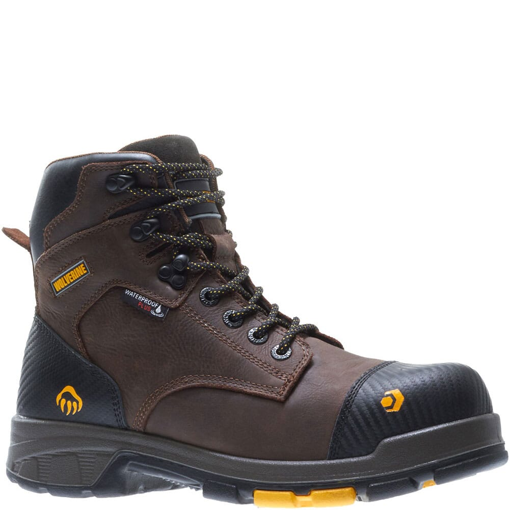 Image for Wolverine Men's Blade LX WP Met-Guard Boots - Brown from bootbay