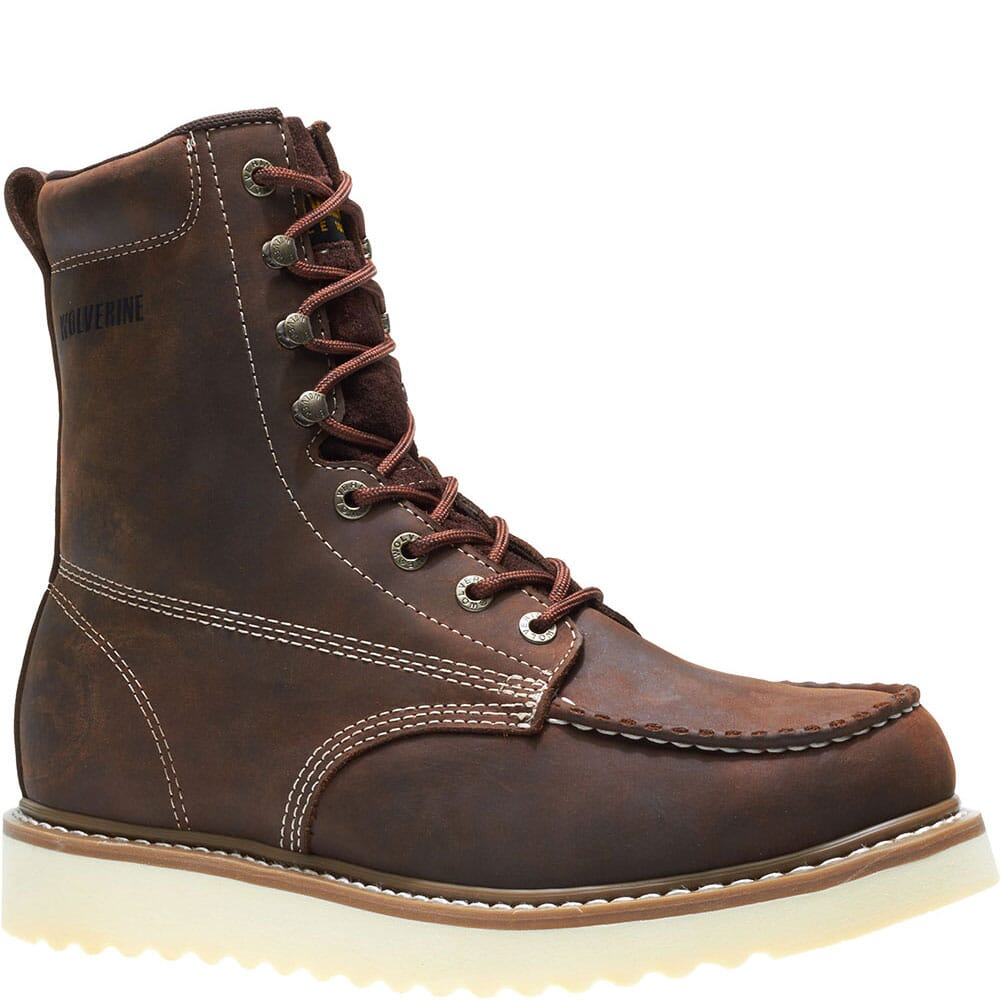 Image for Wolverine Men's Loader Wedge Safety Boots - Brown from bootbay
