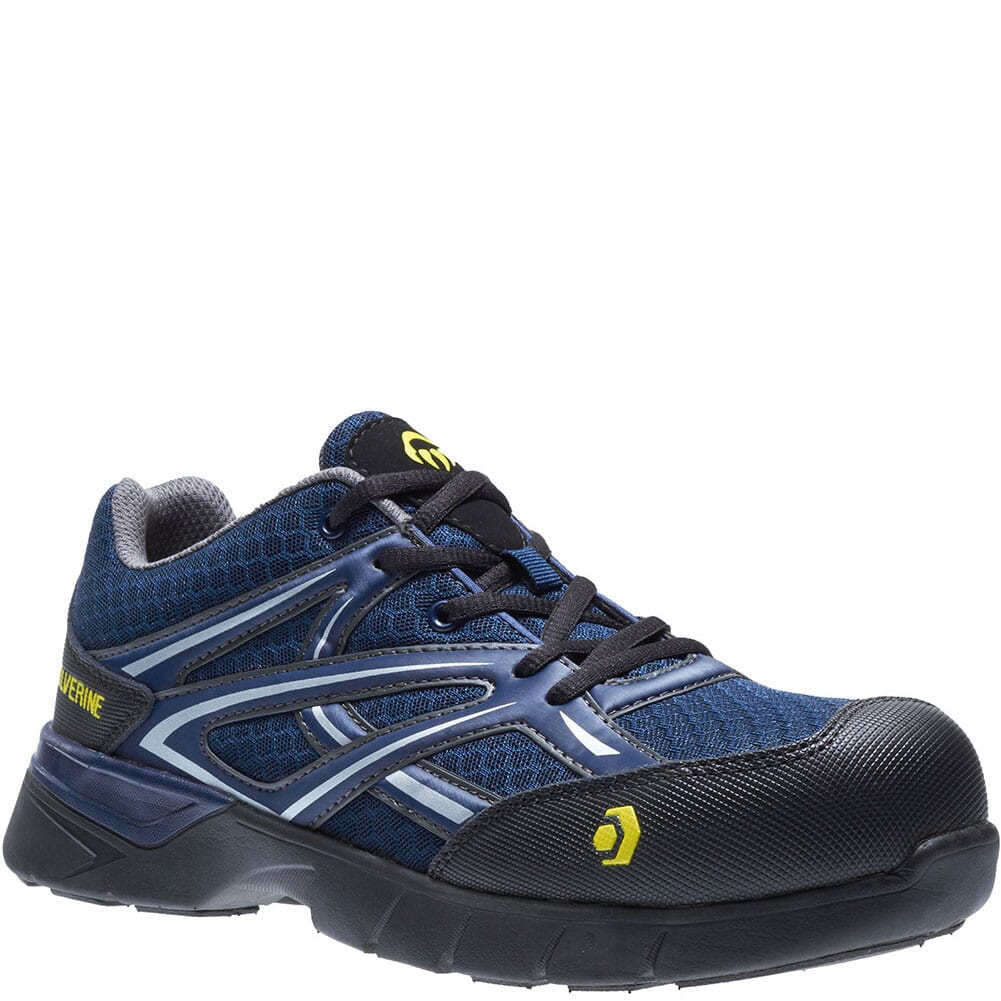 Image for Wolverine Men's Jetstream Safety Shoes - Navy from bootbay