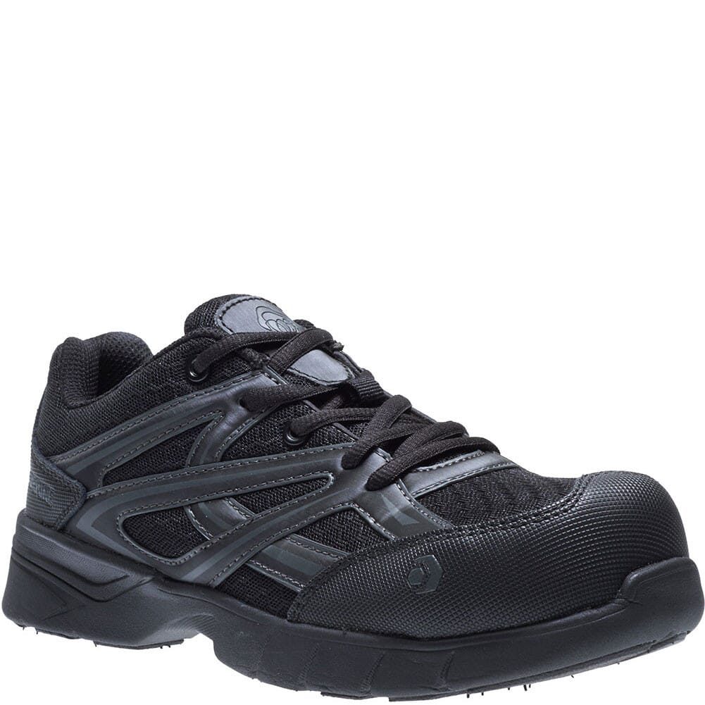Image for Wolverine Women's Jetstream Ath Safety Shoes - Black from elliottsboots