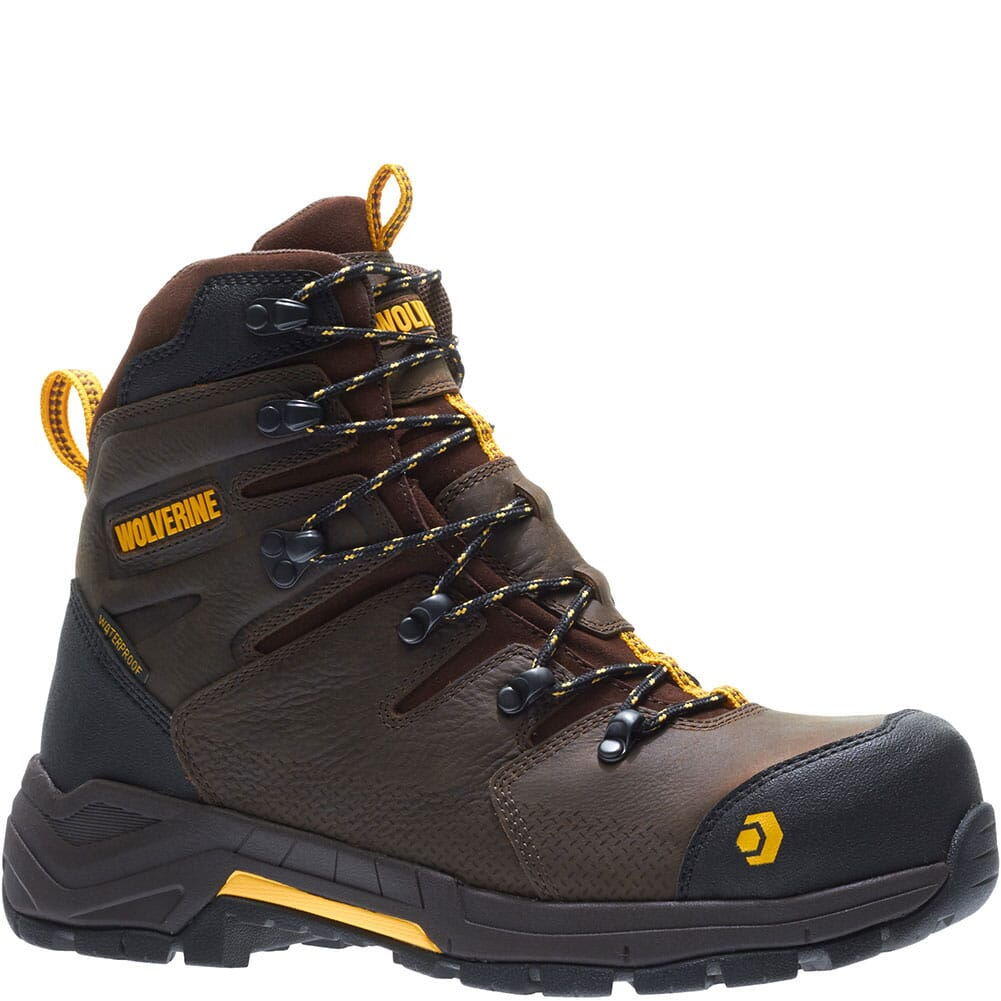 Image for Wolverine Men's Contractor LX CM Safety Boots - Dark Coffee from bootbay