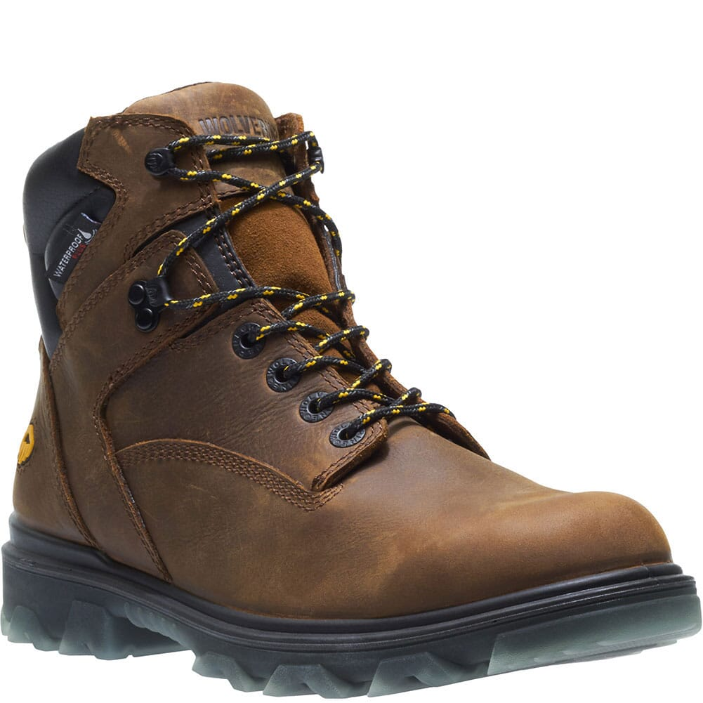 Image for Wolverine Men's I-90 Mid Work Boots - Sudan Brown from bootbay