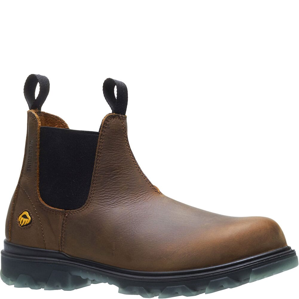 Image for Wolverine Men's I-90 Romeo Safety Boots - Sudan Brown from bootbay