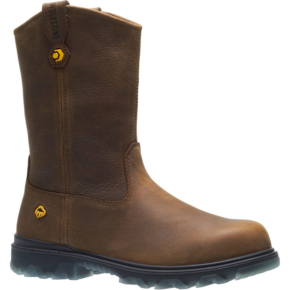 Image for Wolverine Men's I-90 EPX Wellington Safety Boots - Sudan Brown from bootbay