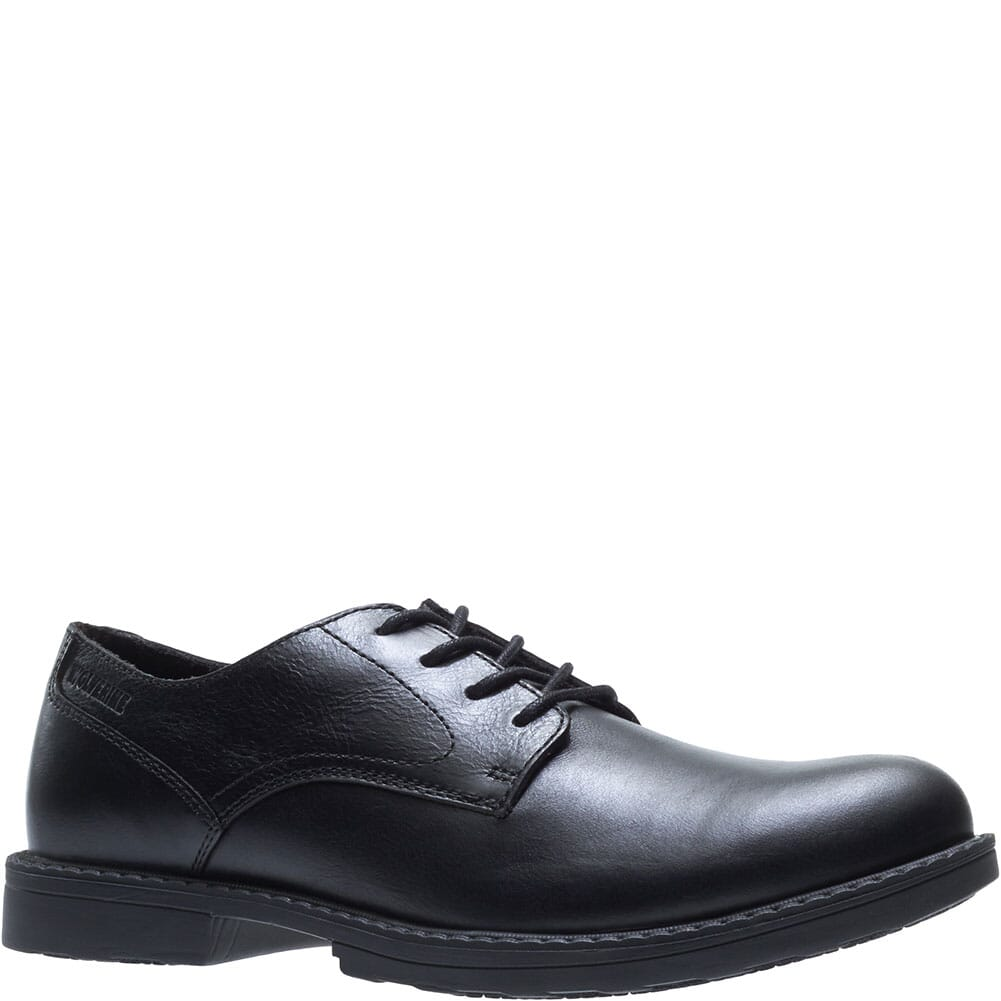 Image for Wolverine Men's Bedford Safety Shoes - Black from bootbay